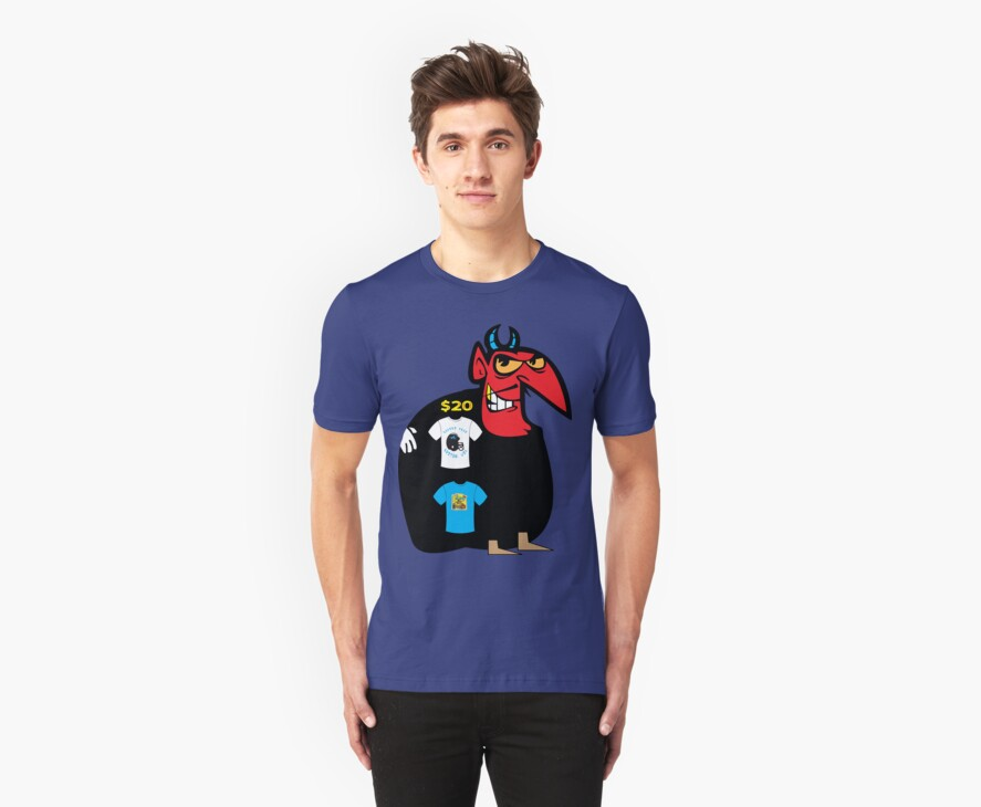 devil tshirt by rogers bros by usahawaii