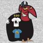 devil tshirt by rogers bros by ukcornwell