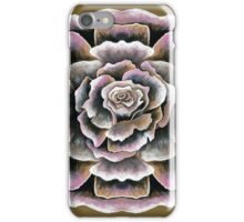 Sweet Pink Acrylic Rose Painting iPhone Case/Skin