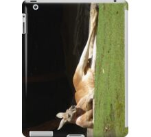 Lazy Kangaroo iPad Case/Skin