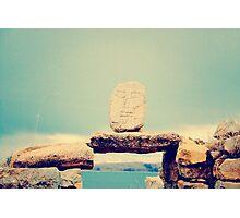 Sr. Cara de piedra Photographic Print