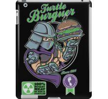 TURTLE BURGUER iPad Case/Skin