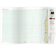 USGS Topo Map Oregon Newport 283109 1981 100000 Poster