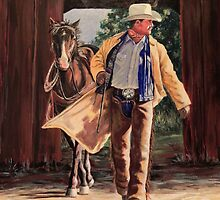 Cowboys, Cowgirls and Horses by Susan Bergstrom