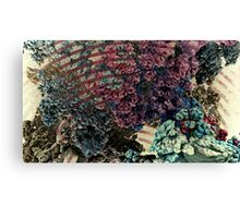 Rolling Caves - Abstract Fractal Canvas Print