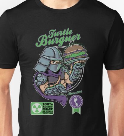 TURTLE BURGUER Unisex T-Shirt