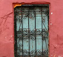 Ornamental old window, Morocco by NCunningham