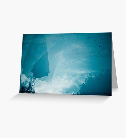 bluepool_a Greeting Card