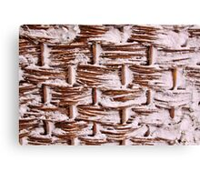 Willow Weave Canvas Print