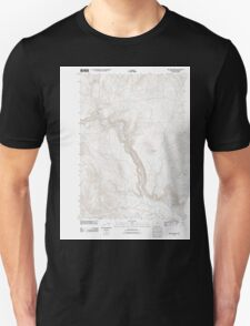 USGS Topo Map Oregon Becker Creek 20110831 TM Unisex T-Shirt