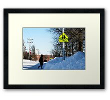 Obstruction Framed Print