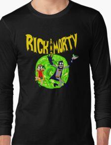 Rick and Morty BatDimension Long Sleeve T-Shirt