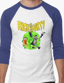 Rick and Morty BatDimension Men's Baseball ¾ T-Shirt