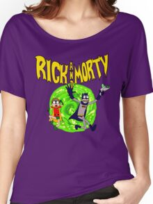 Rick and Morty BatDimension Women's Relaxed Fit T-Shirt