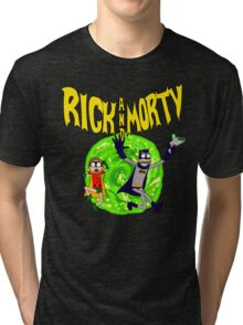 Rick and Morty BatDimension Tri-blend T-Shirt