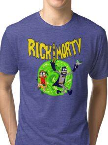 Rick and Morty BatDimension Tri-blend T-Shirt