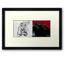 on bended knee to touch the sky - no deposit no return 3 Framed Print