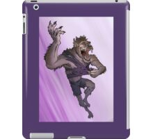 Werewolf Transformation With Background iPad Case/Skin
