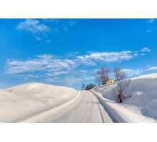 A lovely winter's day Photographic Print