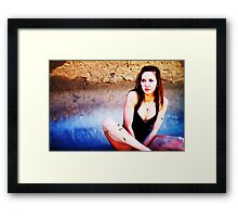 lost again Framed Print