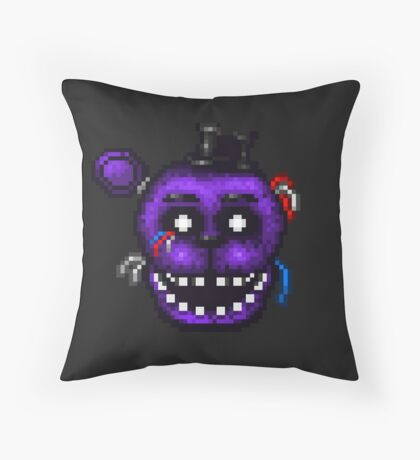 Five Nights at Freddy's 2 - Pixel art - Shadow Freddy Throw Pillow