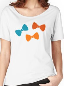 Vintage Pumpkin Bows Women's Relaxed Fit T-Shirt