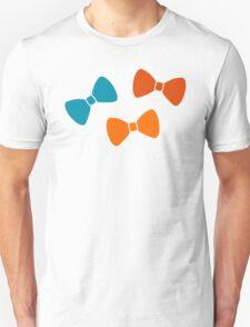 Vintage Pumpkin Bows Unisex T-Shirt