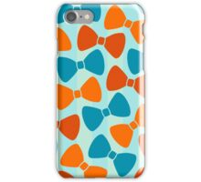 Vintage Pumpkin Bows iPhone Case/Skin