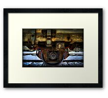 Undercarriage Framed Print
