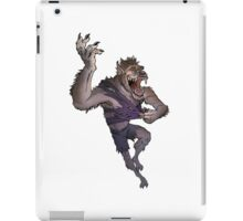 Werewolf Transformation Without Background iPad Case/Skin