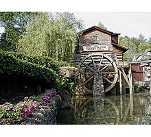 Dollywood Grist Mill, Pigeon Forge  Photographic Print