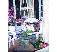 Afternoon at Emmaline's Front Porch Photographic Print
