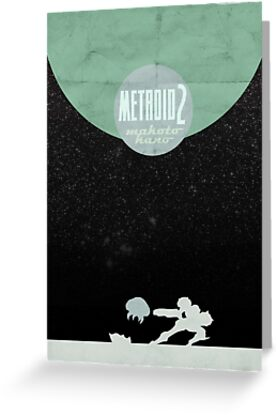 Minimalist Video Games: Metroid 2 by colorlust
