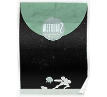 Minimalist Video Games: Metroid 2 Poster