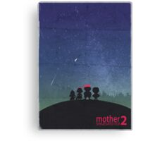Minimalist Video Games: Mother 2  Canvas Print