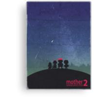 Minimalist Video Games: Mother 2  Canvas Print