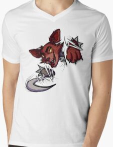 Here's Foxy! Mens V-Neck T-Shirt