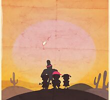 Minimalist Video Games: Mother  by colorlust