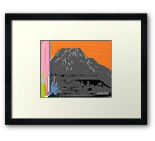 on bended knee to touch the sky - no deposit no return 6 Framed Print