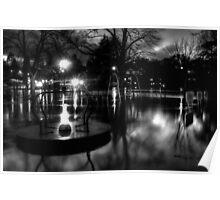 Flooded Shrewsbury Poster