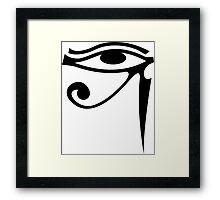 Eye of Horus Framed Print