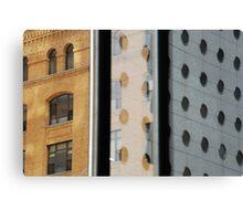 Blocks 'nd Spots Canvas Print