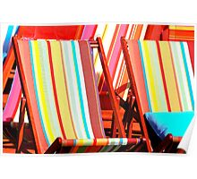 Sandringham Deck Chairs Poster
