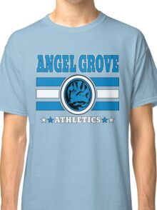 Angel Grove Athletics - Blue Classic T-Shirt
