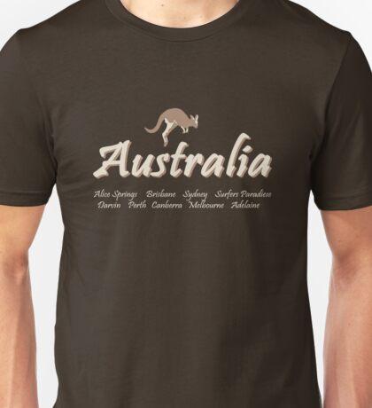 Australia - Kangaroo  Unisex T-Shirt