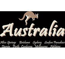 Australia - Kangaroo  Photographic Print