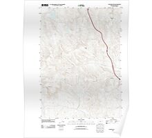 USGS Topo Map Oregon Tub Mountain 20110831 TM Poster