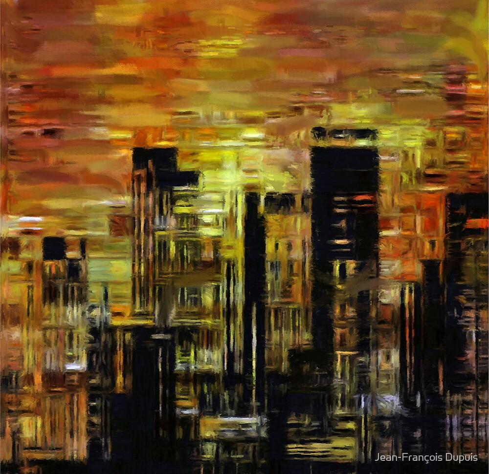 Painting city by Jean-François Dupuis
