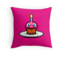 Five Nights at Freddy's 2 - Pixel art - Cupcake Throw Pillow