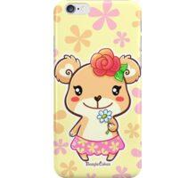 Kawaii Spring Time Flower Bear iPhone Case/Skin
